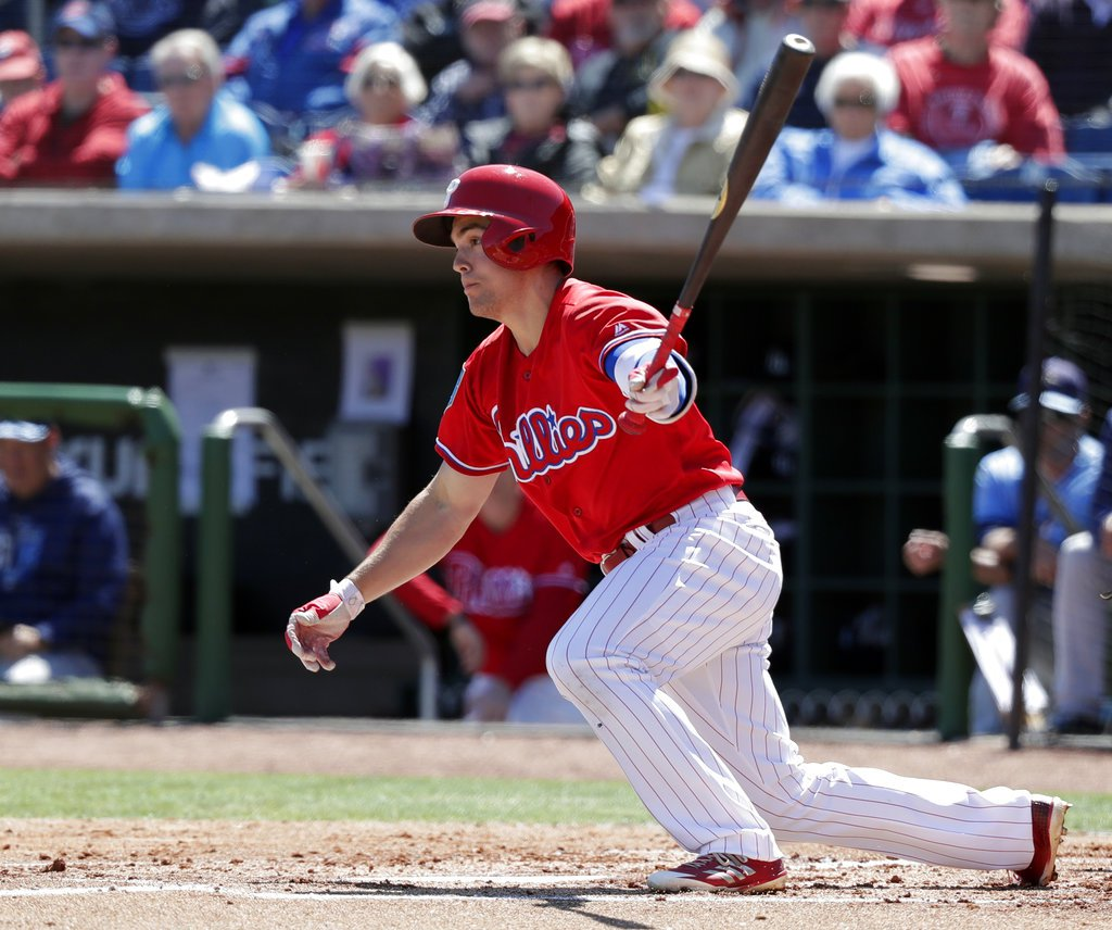 Kingery Makes Case For Spot On Phillies Roster