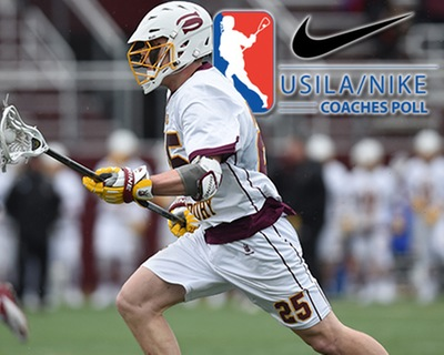 SU Men's Lacrosse Stays at Number 11 in USILA Poll