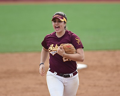 Salisbury Softball Sweeps Doubleheader With Wesley College
