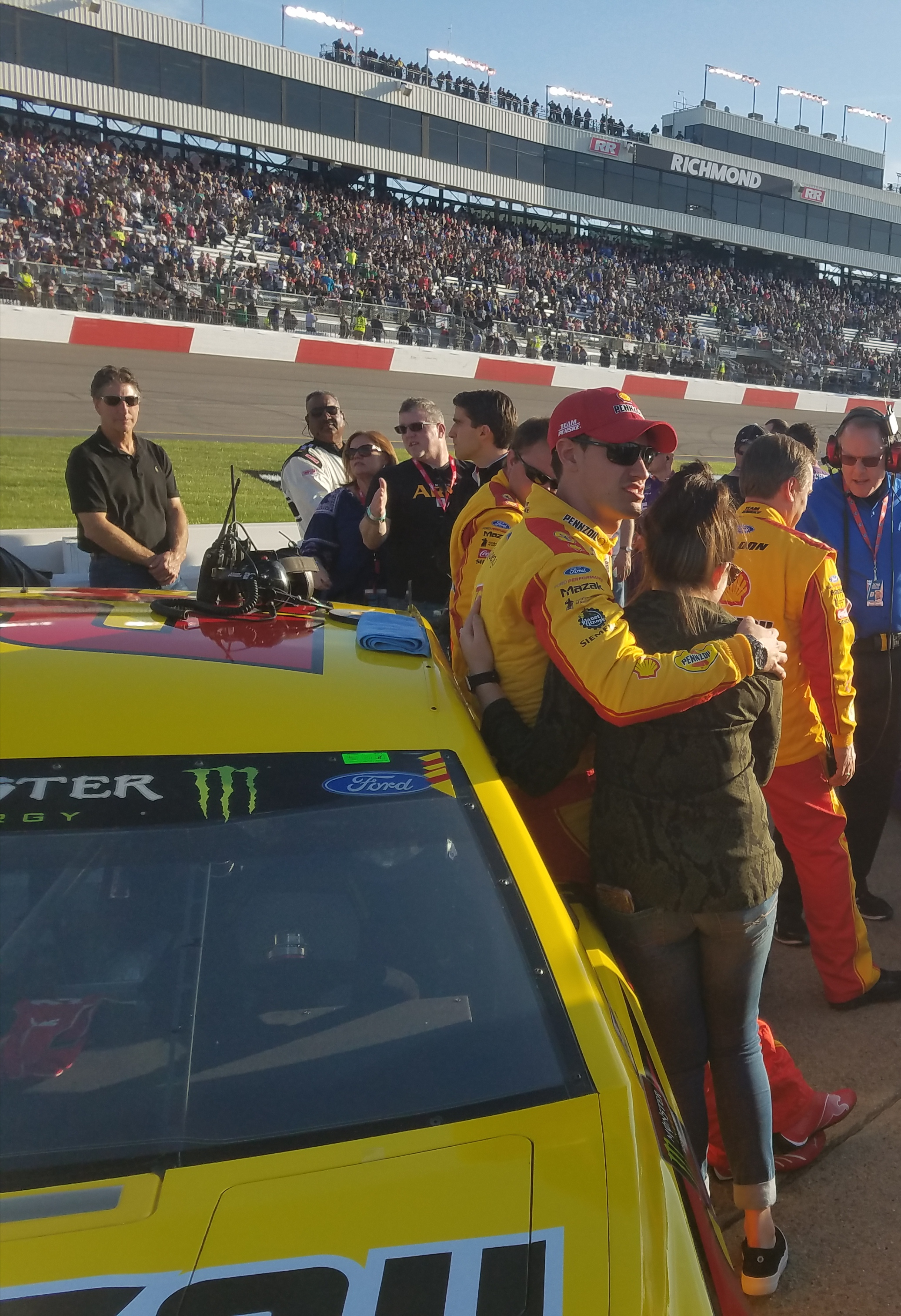 Logano Heads To Dover With Momentum