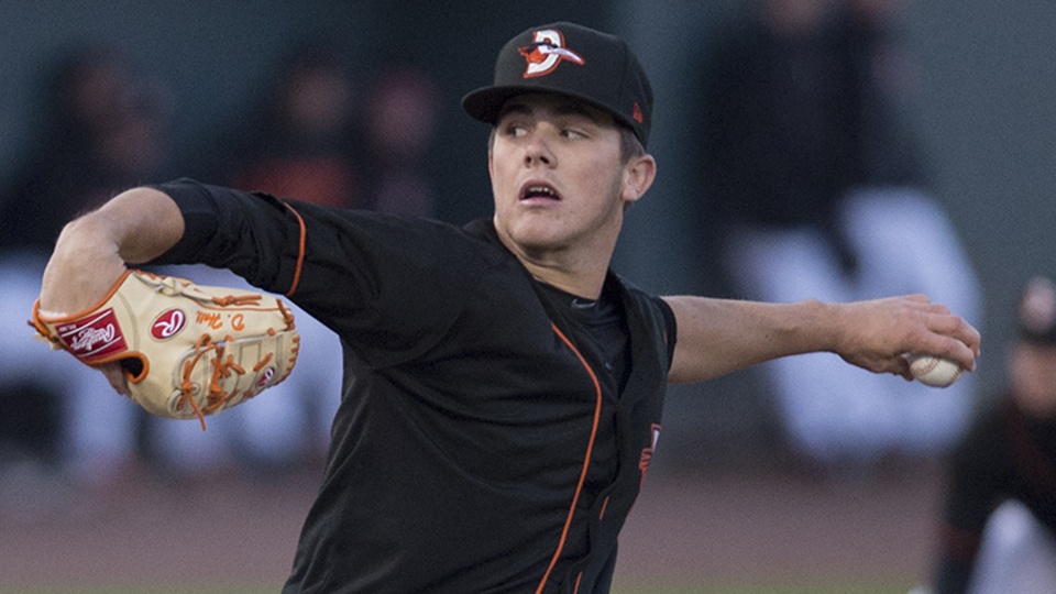 Shorebirds Hall Wins Pitcher Of The Week