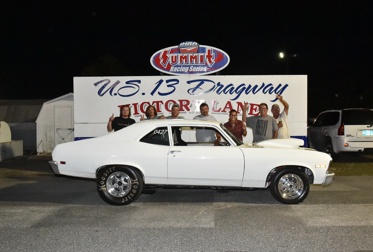 U.S. 13 Dragway Results – July 16, 2018