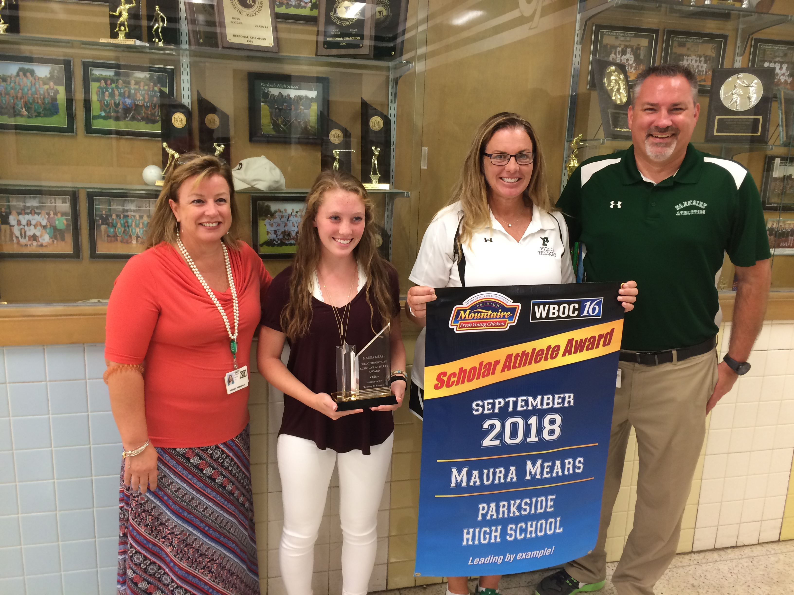 WBOC Mountaire Farms September Scholar Athlete Of The Month – Maura Mears Of Parkside