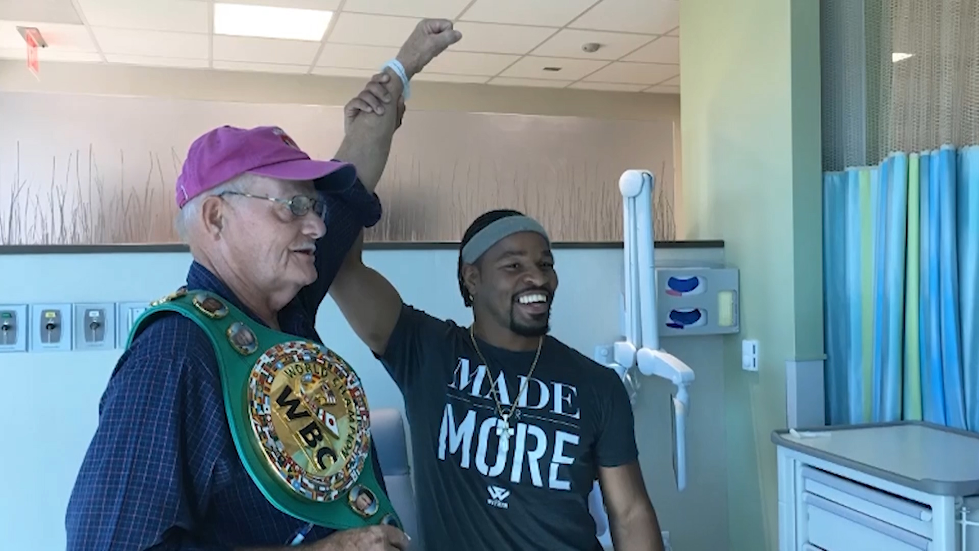 World Champions visit cancer patients in Berlin
