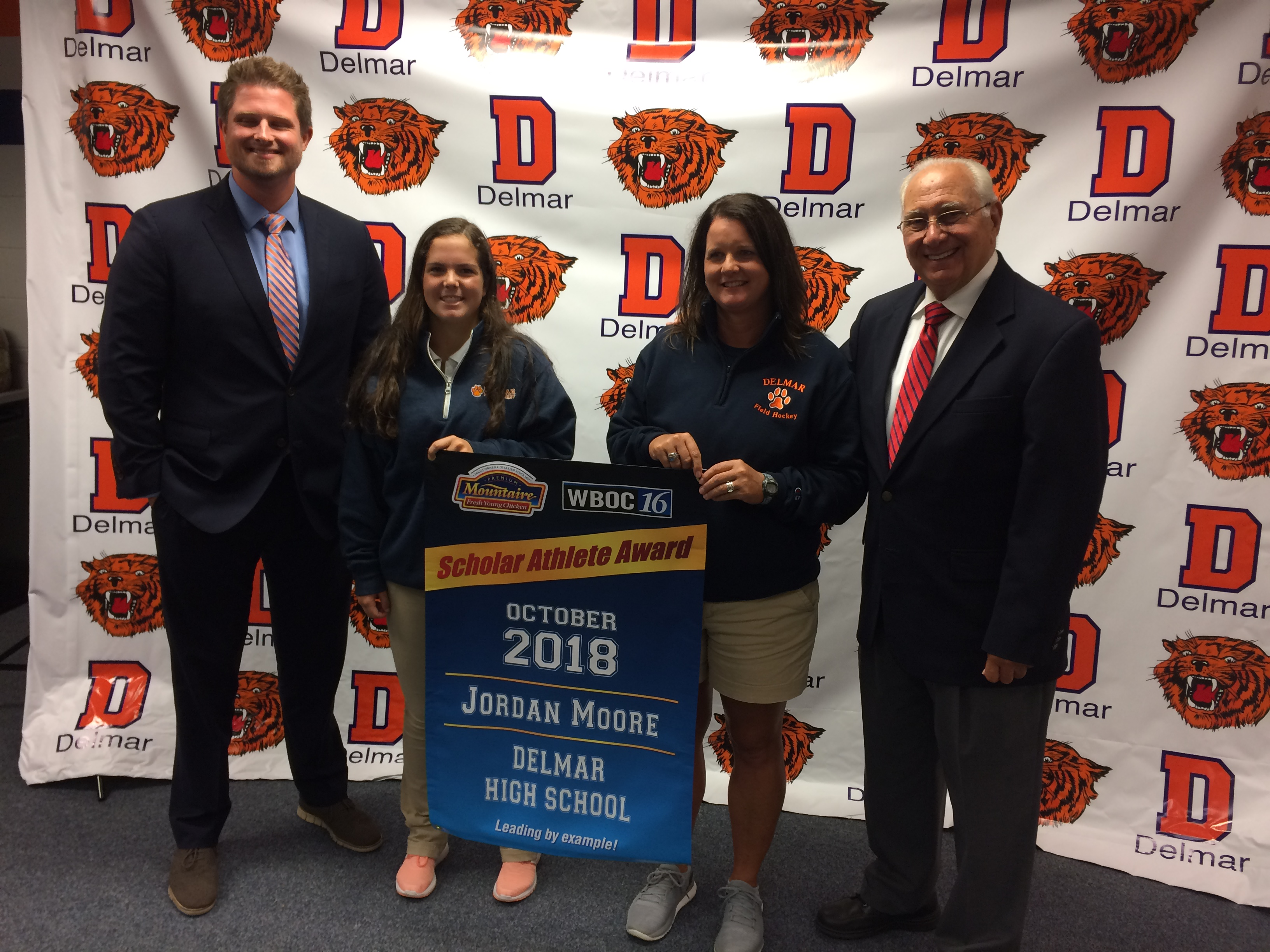 WBOC Mountaire Farms October Scholar Athlete Of The Month – Delmar's Jordan Moore