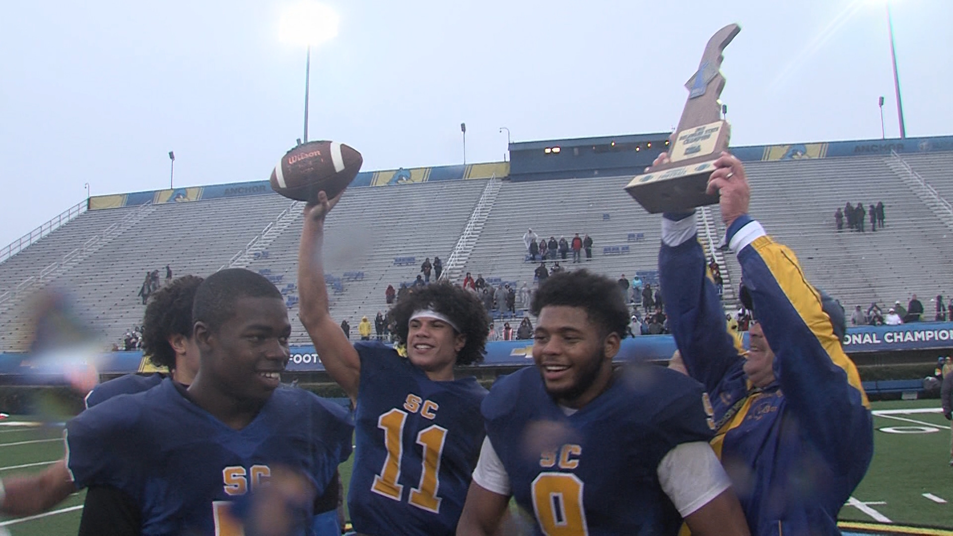 Sussex Central Celebrates A Championship