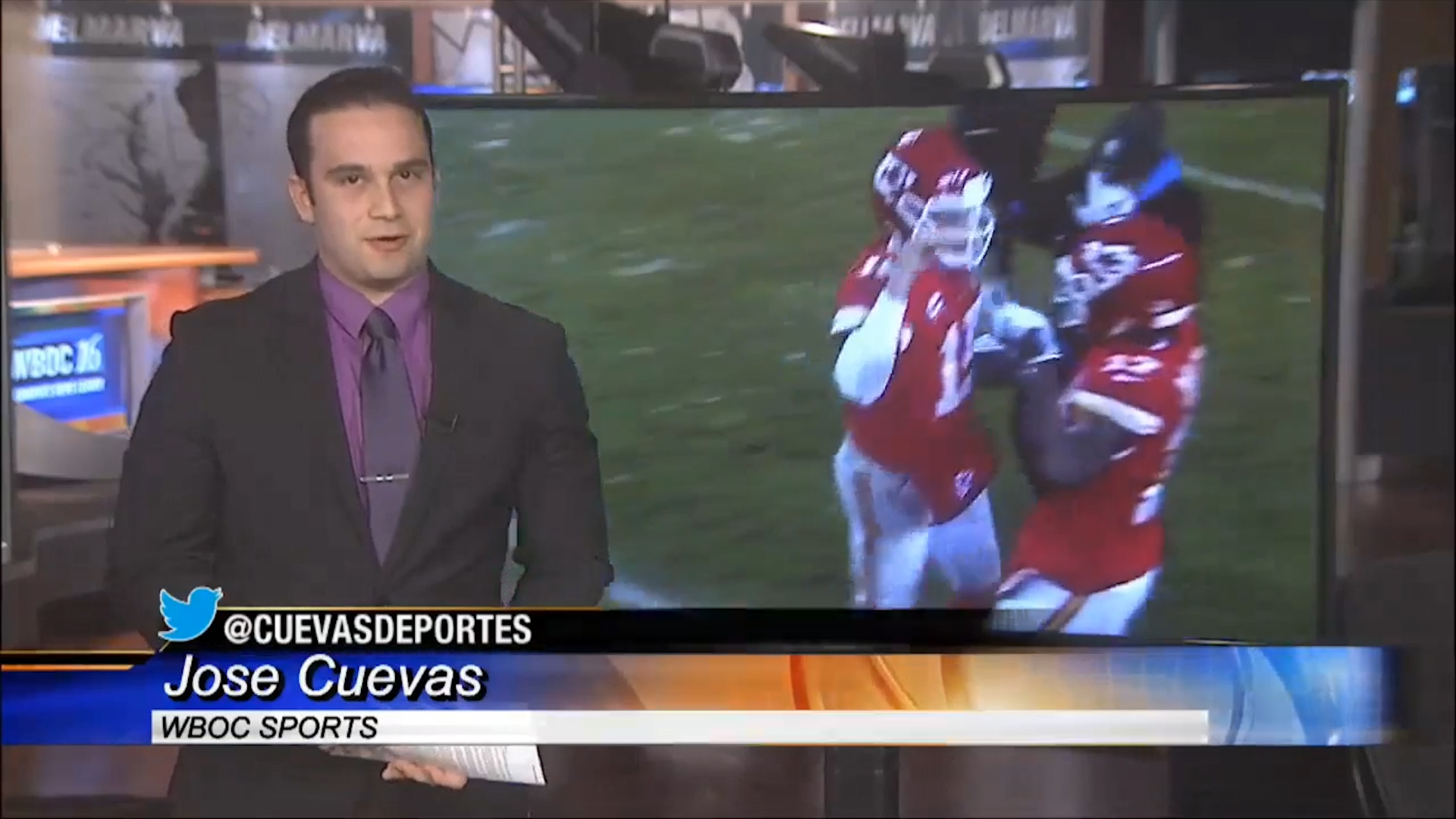 WBOC Sports Report – Saturday January 12, 2019