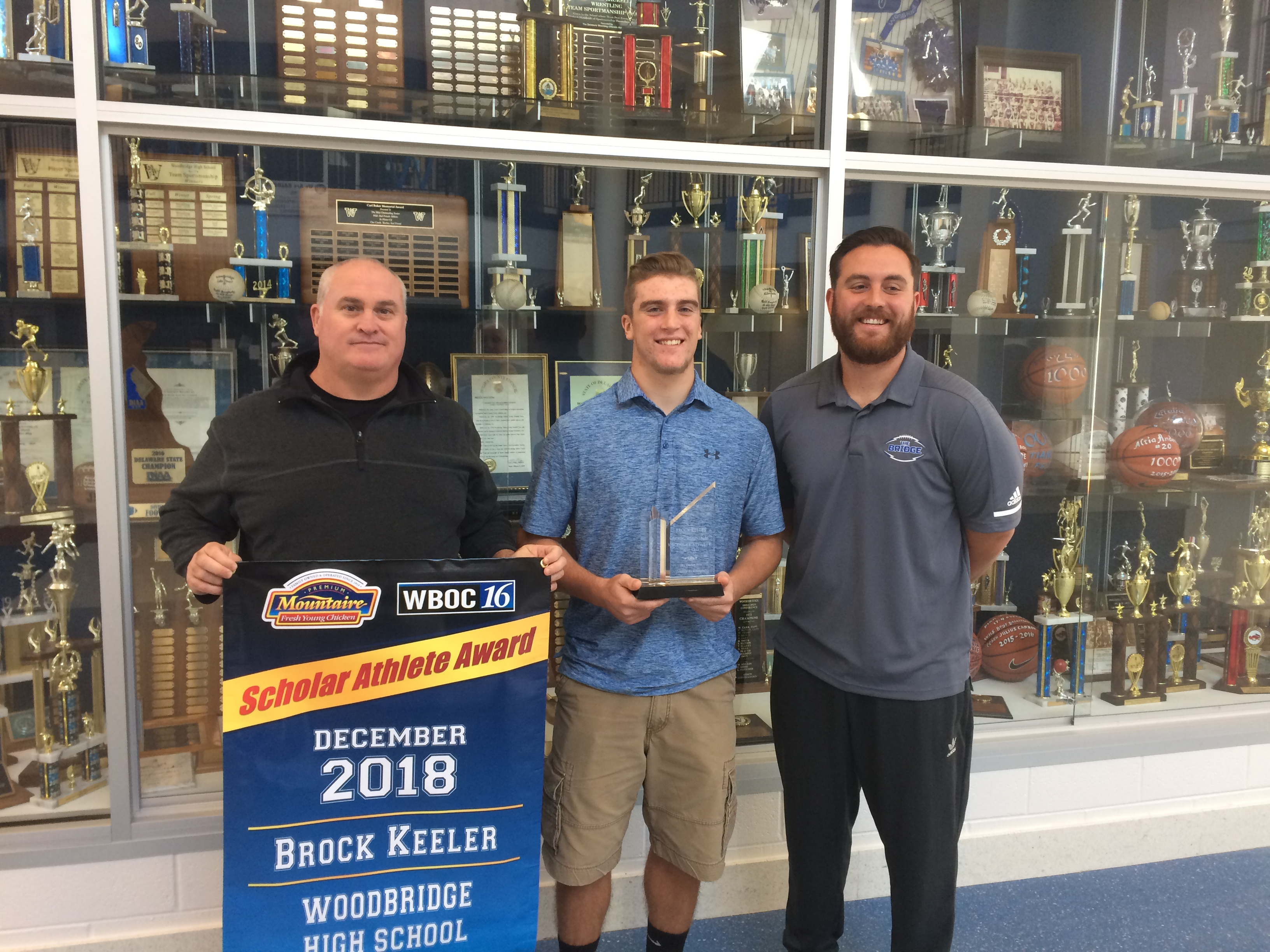 WBOC Mountaire Farms December Scholar Athlete of The Month – Woodbridge's Brock Keeler