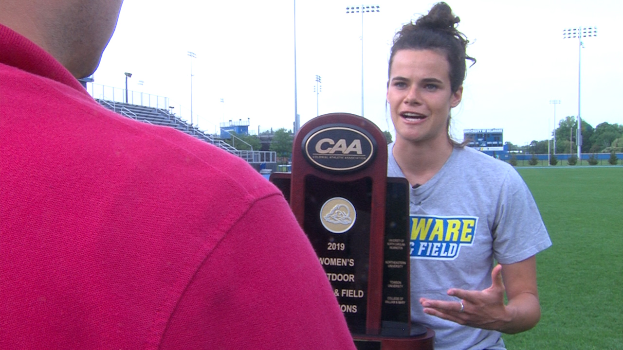 "There is no ""I"" in team: A look at the CAA Champion University of Delaware Women's Track and Field Team"