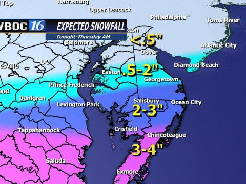 Snow Total Map 1