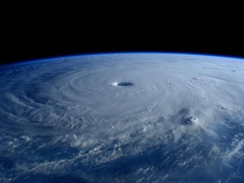 Category 5 Super Typhoon Maysak from the ISS (NASA Image).