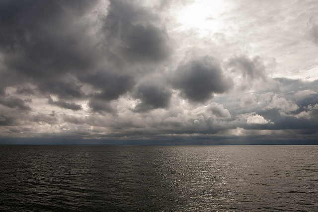 The Chesapeake on a Stormy Day. Dan's photo.