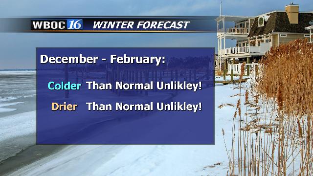 Winter Forecast for Dan