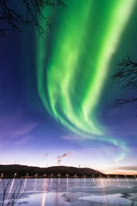 This aurora pic from Sweden was posted on Twitter by Mia Stalnacke.