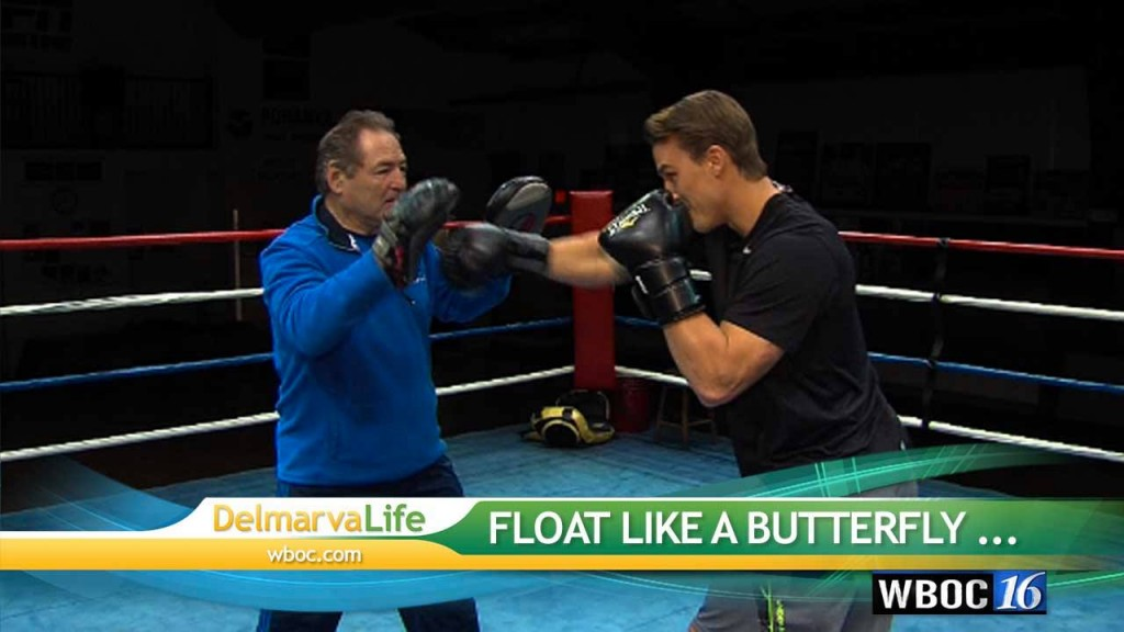 Sean steps into the boxing ring!