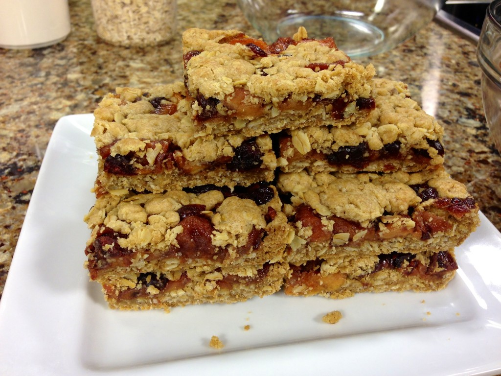 Apple Cranberry Crumb Bars
