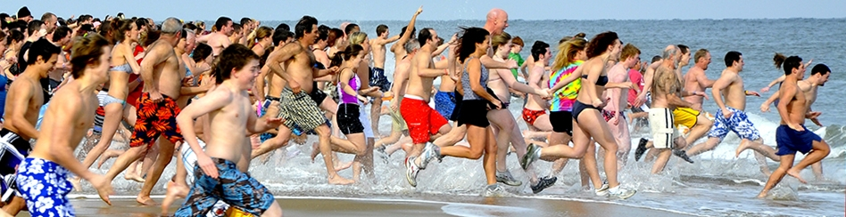 Polar Bears Plunge for Special Olympics