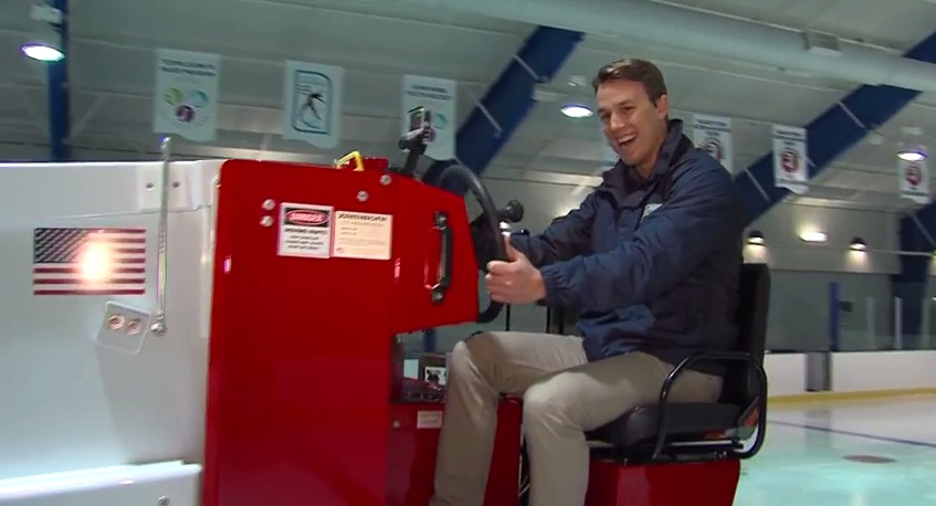 A Day in the Life of a Zamboni Driver – Wednesday, February 4, 2015