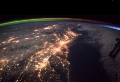 Delmarva Cameos In Spectacular Video Clip From Space