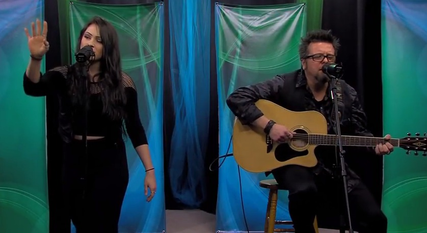 "Paul & Alyssa Lewis Sing ""We Are Waiting""- Friday, February 6, 2015"