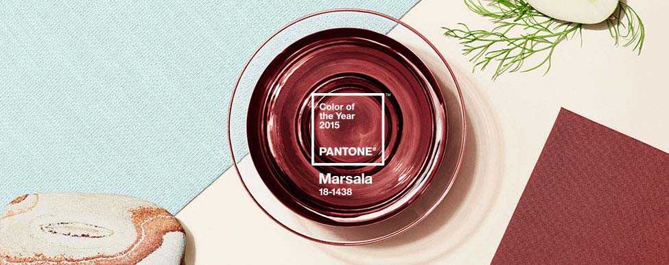 Pantone Color of 2015: Marsala