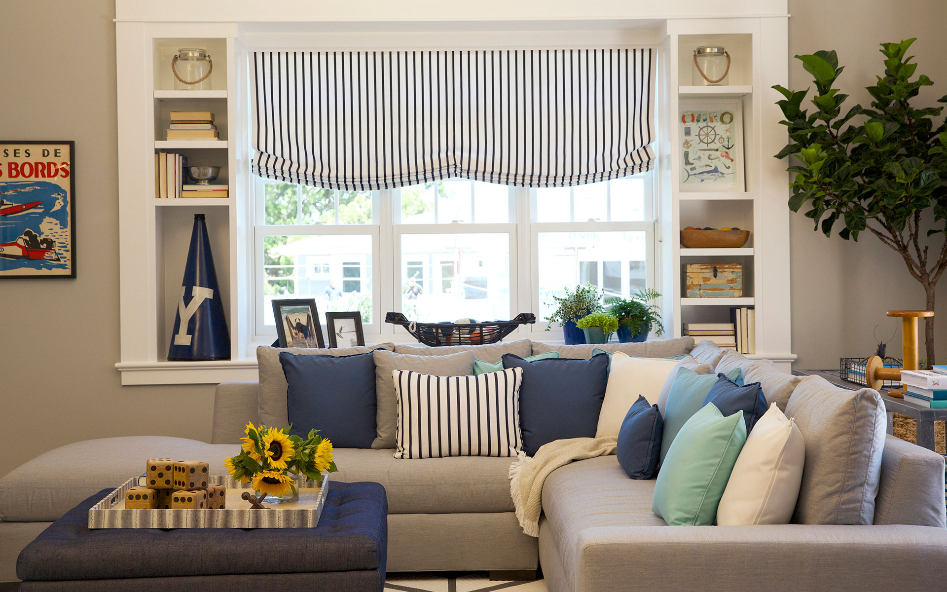 Bringing Outdoor Fabric Inside with Sunbrella - DelmarvaLife