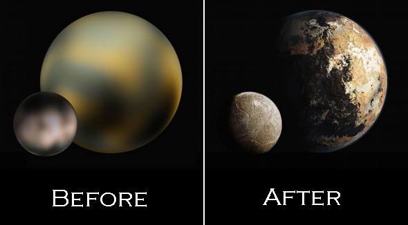 "Help Name A Surface Feature On Pluto – NASA's ""New Horizons"" Space Mission"