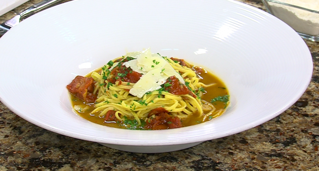 Spaghetti Alla Chitarra with Nage Restaurant