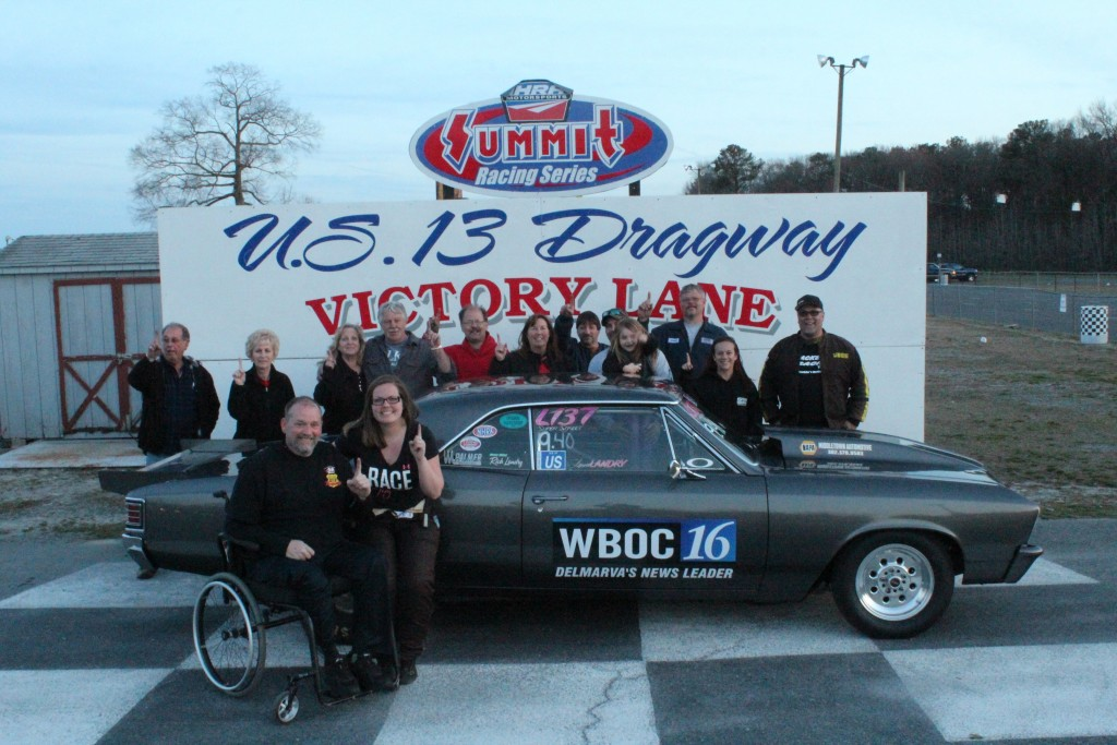 US 13 Dragway – Laura Landry Wins Points Opener – Sunday, April 5, 2015