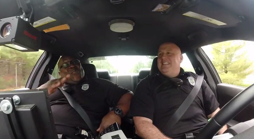 Dover Police Dashcam Confessionals Presents #DashCamDuet