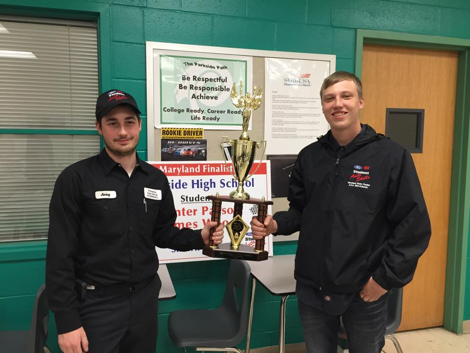 Parkside High School's Career Technology Education Program Receives National Attention