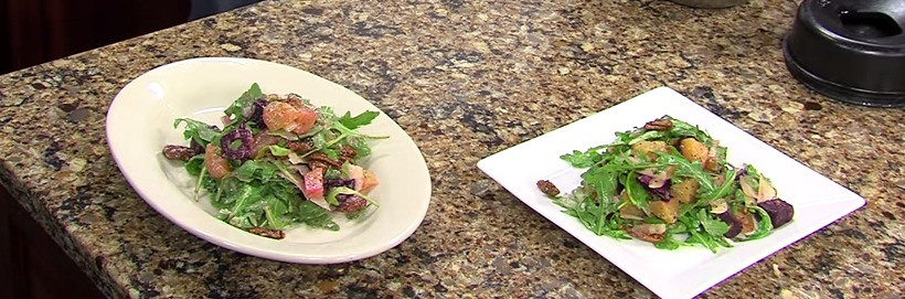 Roasted Beet & Arugula Salad with Ronnie Burke – SoDel Concepts – Friday, May 1, 2015