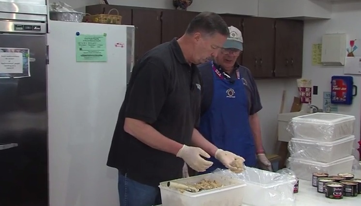 Jimmy Prepares Crab Cakes for Springfest with the Berlin-OC Optimist Club – Friday, May 8, 2015