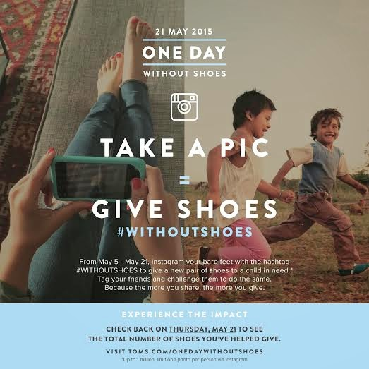 TOMS Donates 296,243 New Pairs of Shoes to Needy Children