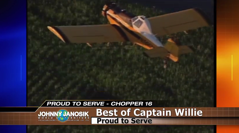 Proud to Serve: Crop Dusting