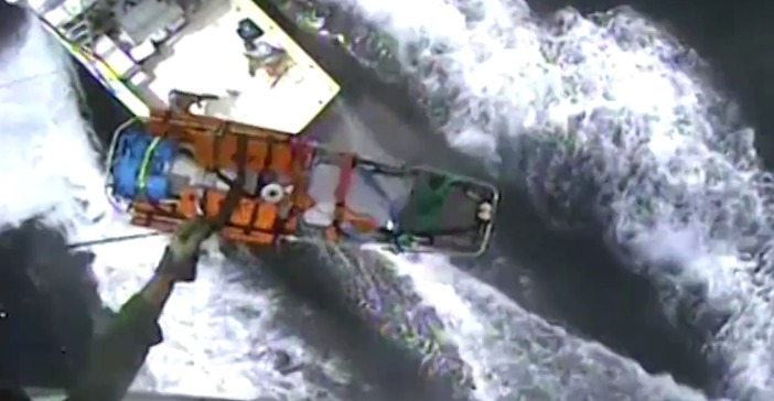 U.S. Coast Guard Answers Questions About Hoist Video on Friday near Ocean City, Md.