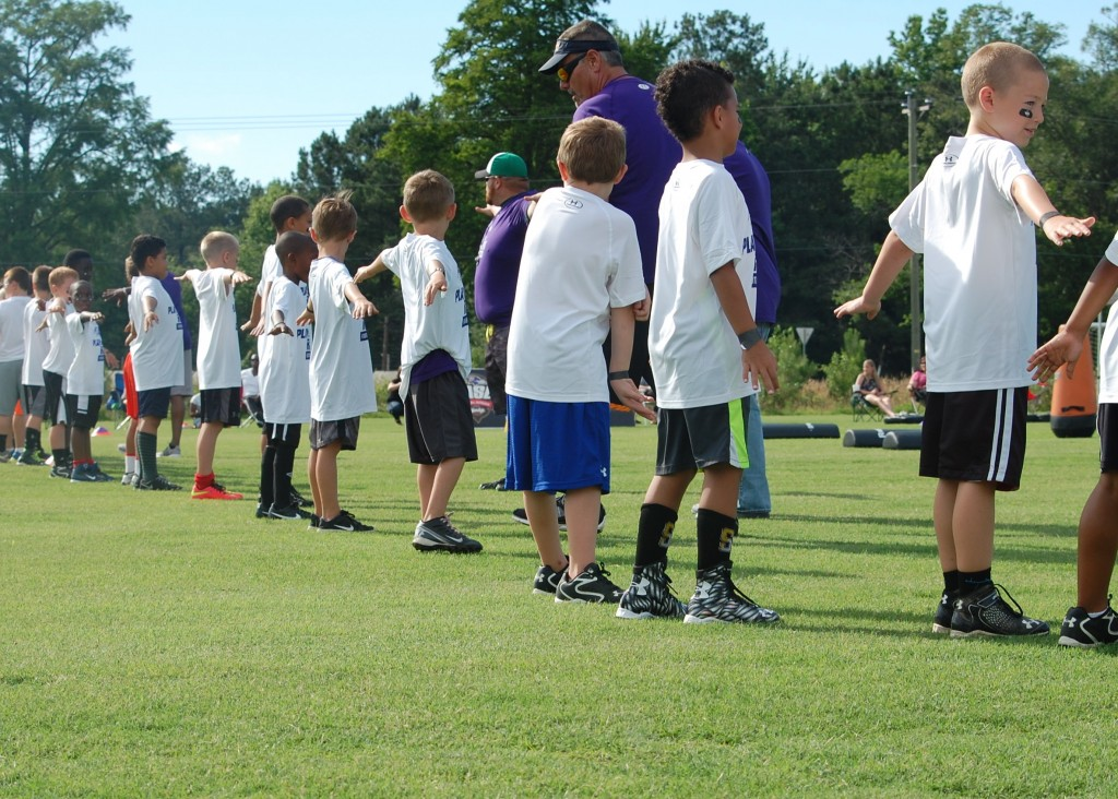 'Play Like A Raven' Football Clinic in Maryland