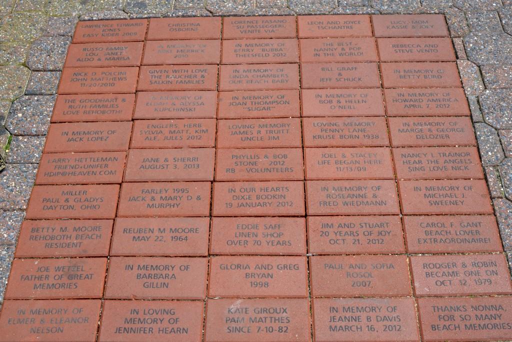 Hot Topics – Rehoboth Beach Commemorative Bricks – June 25, 2015