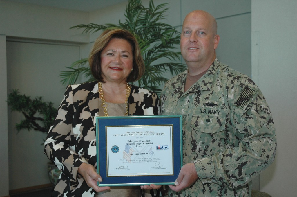 PRMC Receives Patriot Award