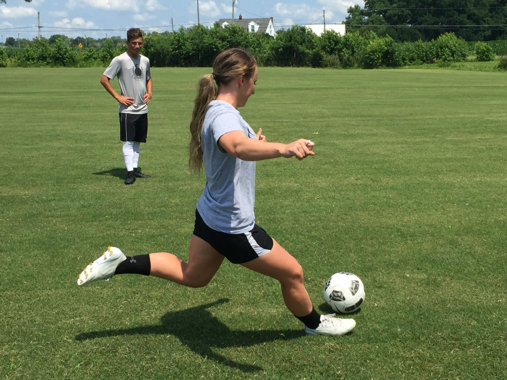 Salisbury Players Inspired By USA Women's World Cup Stars