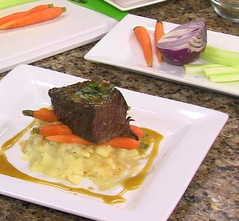 Beer Braised Short Ribs with Chef Matt Gurley from Irish Eyes Pub