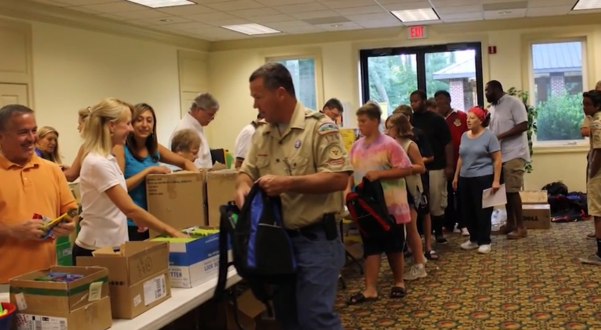 The Book Bag Project – Rotary Club of Salisbury – Friday, July 24, 2015