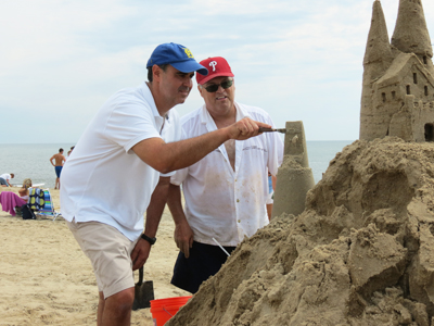 Rehoboth Beach Holds 37th Annual Sandcastle and Sculpture Contest