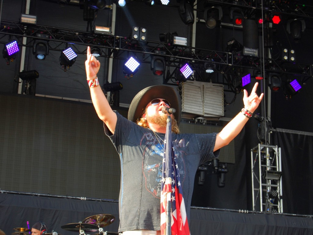Colt Ford Cranked It Up at Delaware Junction Festival