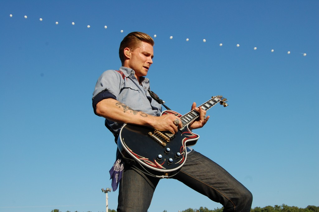 Frankie Ballard Acts 'Young and Crazy' at Delaware Junction Festival