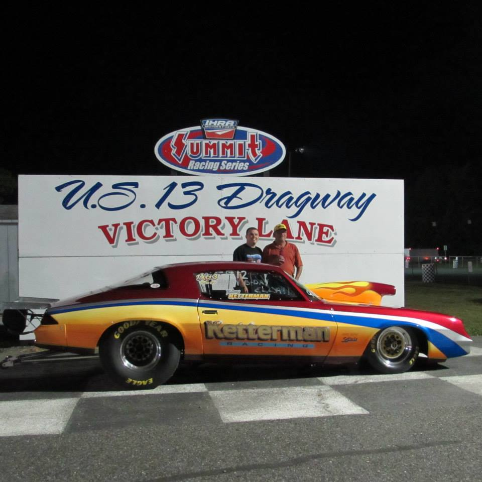 Drag Racing: Tommy Ketterman Takes Top Eliminator Win – U.S. 13 Dragway