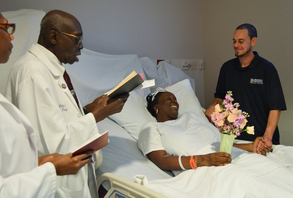 Bride Receives 'Happily Ever After' in Hospital Bed