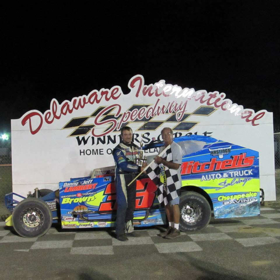 Dirt Track: Trice Wins Big Block Main – Delaware International Speedway