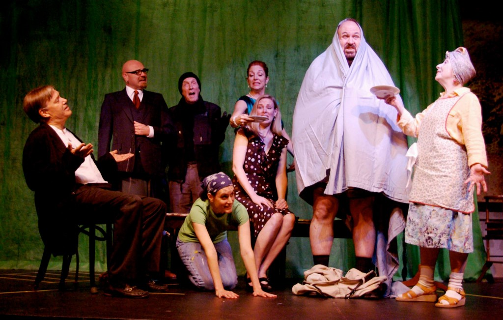 Noises Off at The Church Hill Theatre
