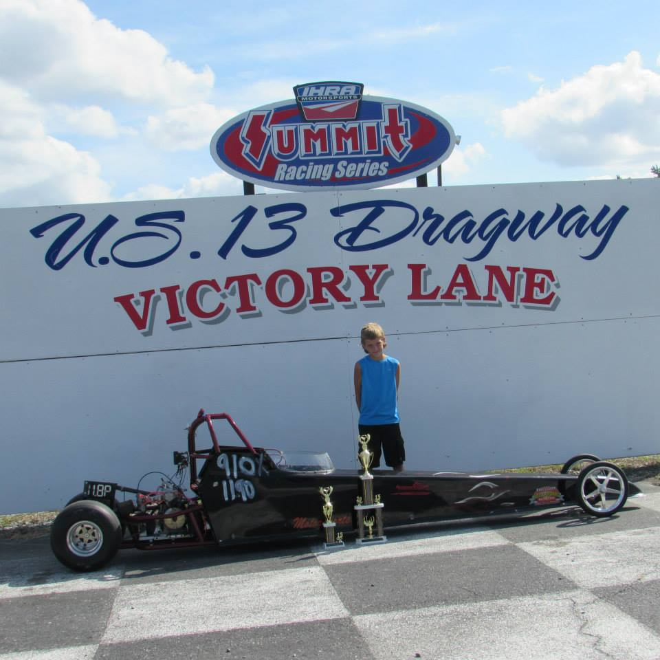 Drag Racing: Jones Wins Top Eliminator